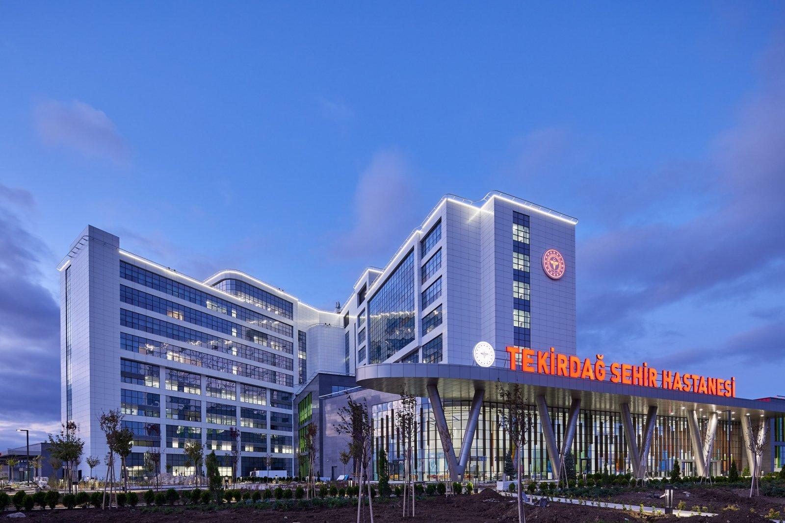 Tekirdag City Hospital, Turkey